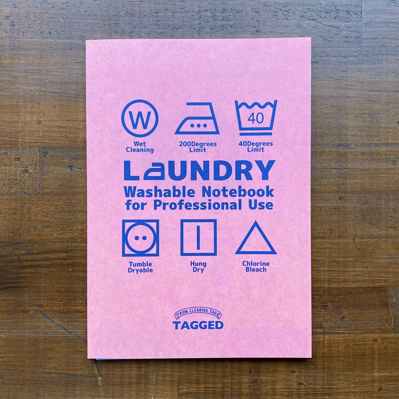 洗えるA5耐洗紙ランドリーノート(ウキウキノートリフィル)ピンク