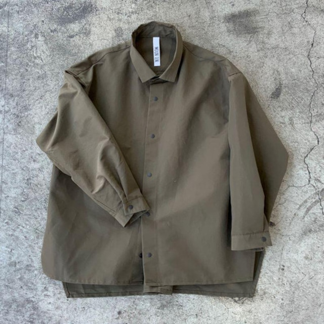 Last one 110!MOUN TEN. MOUNTEN. grosgrain shirts (khaki)[MT202004-a] 110/125/140 1点のみメール便可