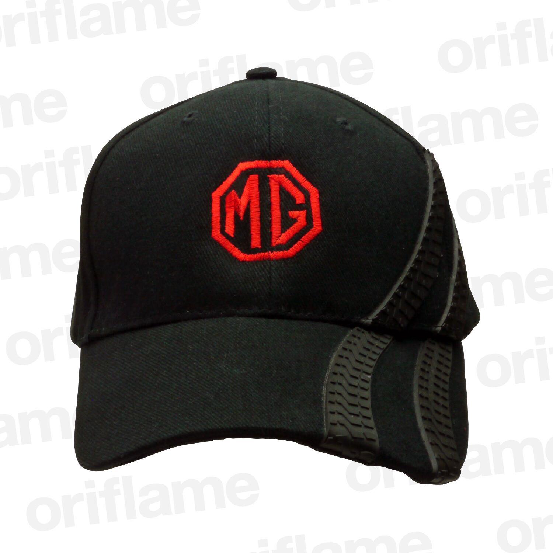 ベースボール キャップ・MG・ブラックタイヤトラック