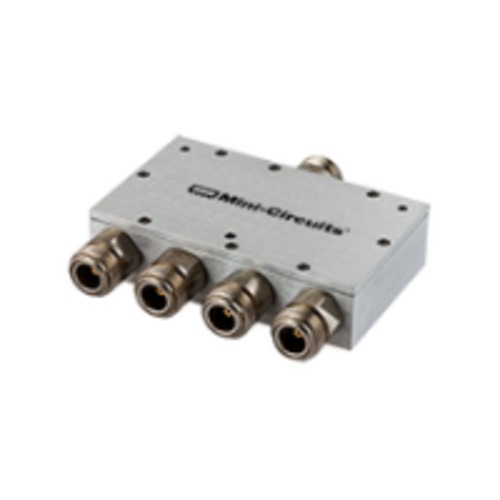 ZB4PD-52-20W-N+(N), Mini-Circuits(ミニサーキット)    RF電力分配器・合成器(スプリッタ・コンバイナ), Frequency(MHz):10 to 500 MHz, 分配数:4 WAY-0°