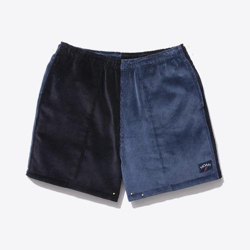 Two-Tone Corduroy Running Shorts(Dark Blue/Dark Navy)