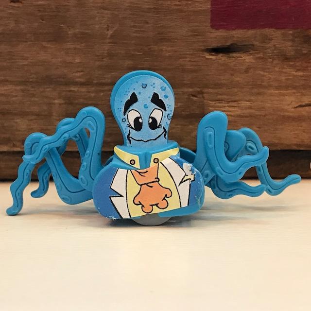 キンダーサプライズ 奇妙な生物 タコ (水色)