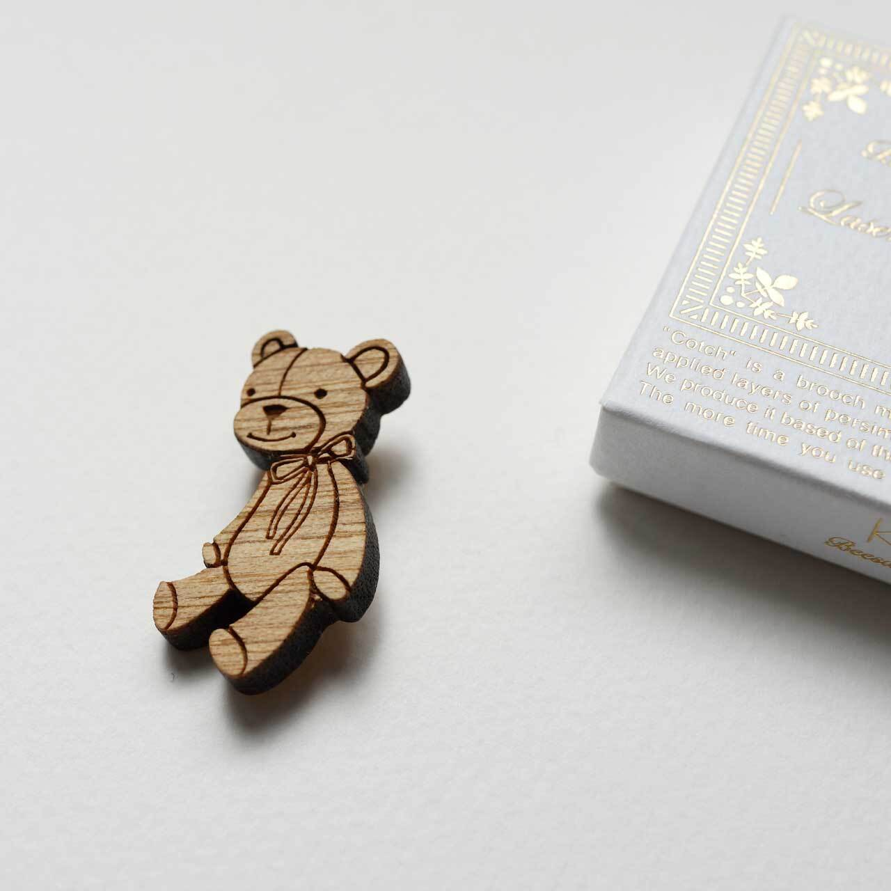 furry bear / くまのぬいぐるみ(Brooch)