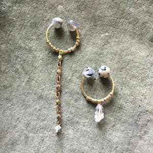 Owly.original earrings (ラウンドオリジナル)