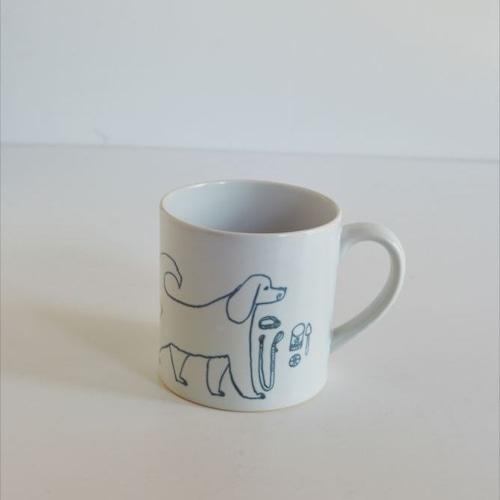【トラネコボンボン 】犬のマグカップ(大)