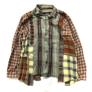 REMAKE  HEAVY SHIRTS リメイクヘビーネルシャツ【Shirts37】