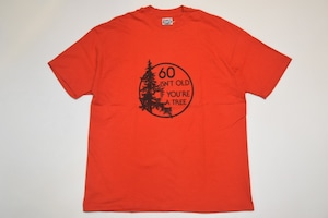 """USED 80s T-Shirt """"60 isn't old if you're a tree"""" -XLarge 01137"""