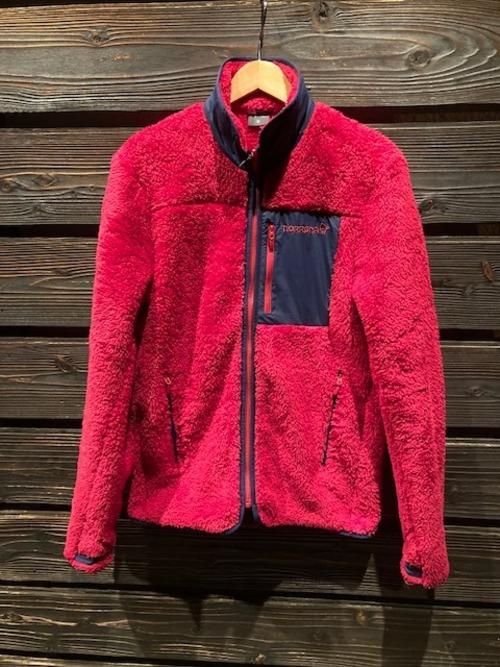 Norrona  norrona warm3 Jacket  Jester Red  Sサイズ
