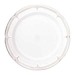 Koyo ラフィネ リムプレート 皿 約26cm スモークホワイト 15910103