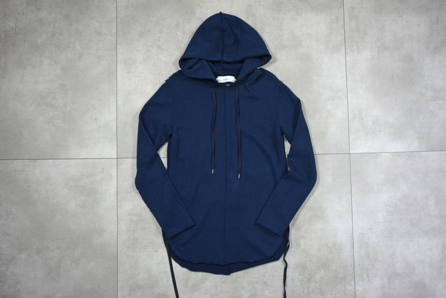 21AWご予約商品 ASKYY / CORD HOODIE -LIMITED COLOR- / BLUE