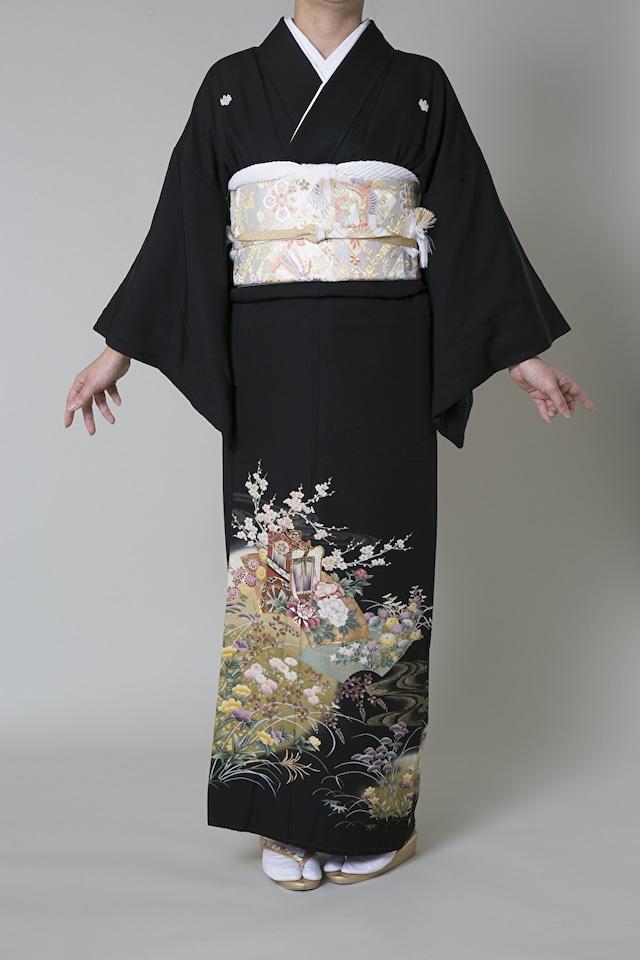 【レンタル】黒留袖 TAM-4(Mサイズ)