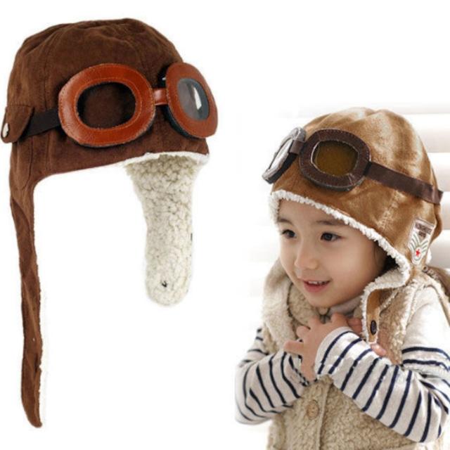 あったかパイロット帽子 S281