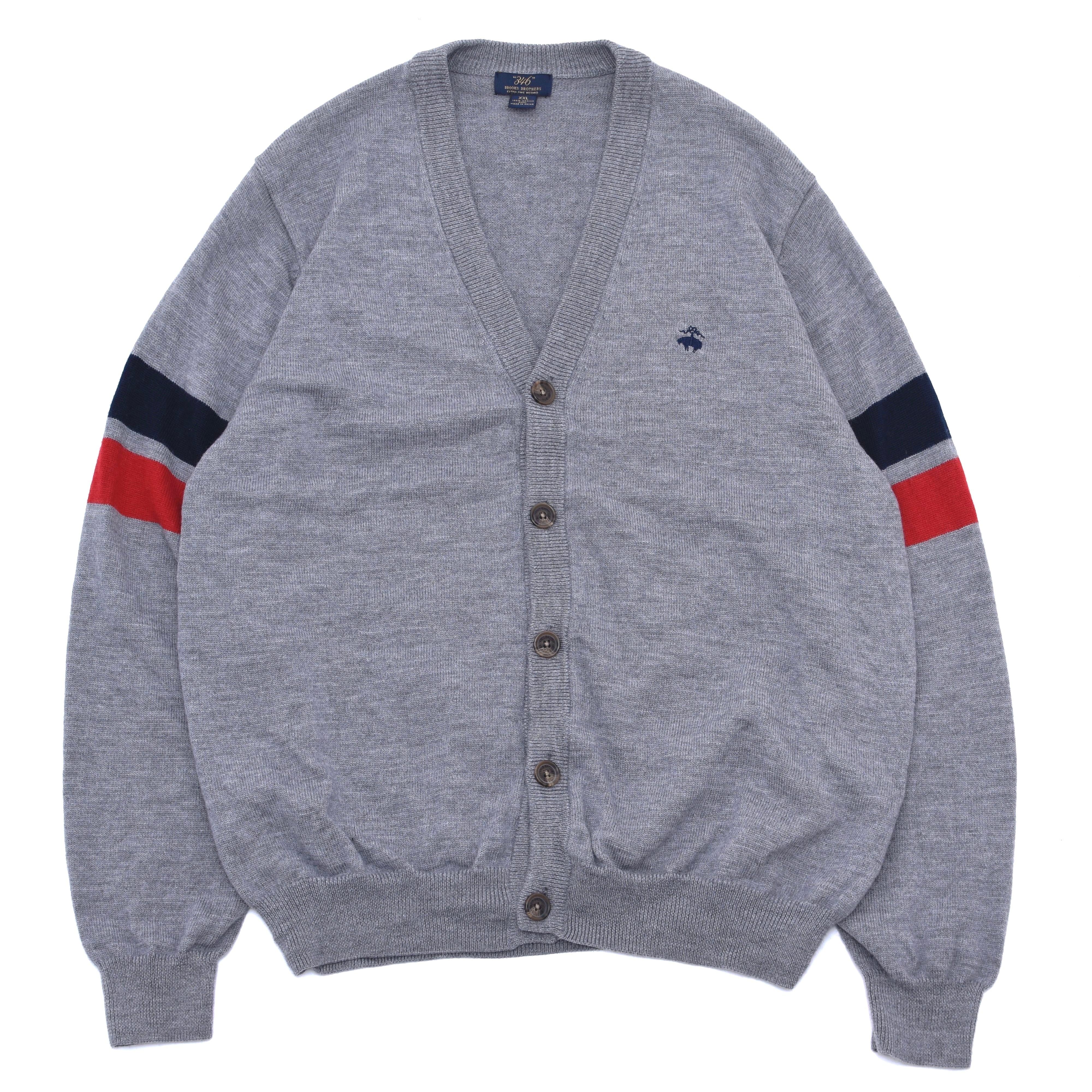 Brooks Brothers 346 wool knit cardigan