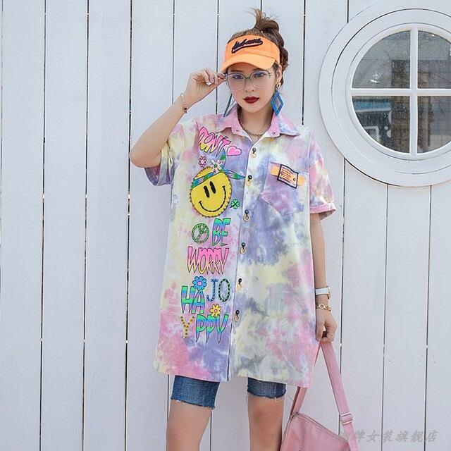 【SELECT】スマイリータイダイシャツ