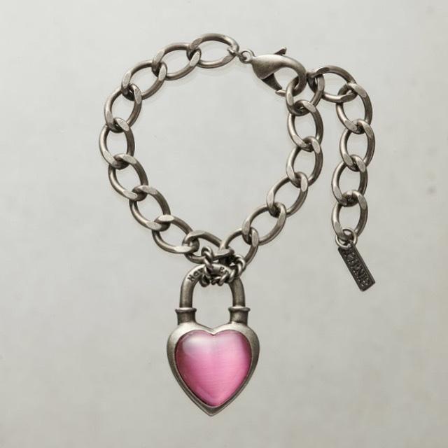 Never End® Bracelet Silver/Pink #1756 ネバー・エンド ブレスレット/シルバー/ピンク