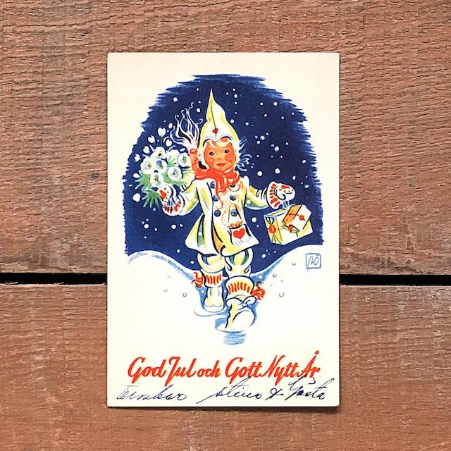 ミニ・クリスマスカード「Astrid Österling(アストリッド・オステリング)」《201211-07》