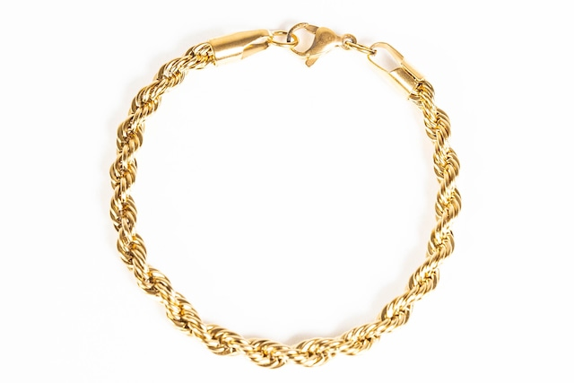 【316L twist chain bracelet】 / GOLD