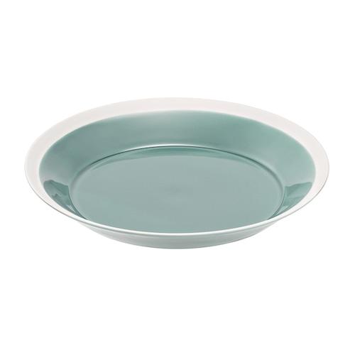 yumiko iihoshi porcelain(イイホシ ユミコ) Dishes プレート220 pistachio green