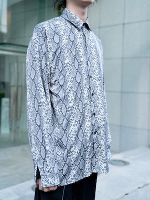 【UNISEX - 1 size】PYTHON SHIRT / Grey