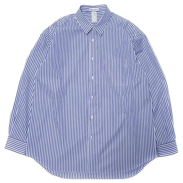 トーマスメイソン ビッグストライプシャツ