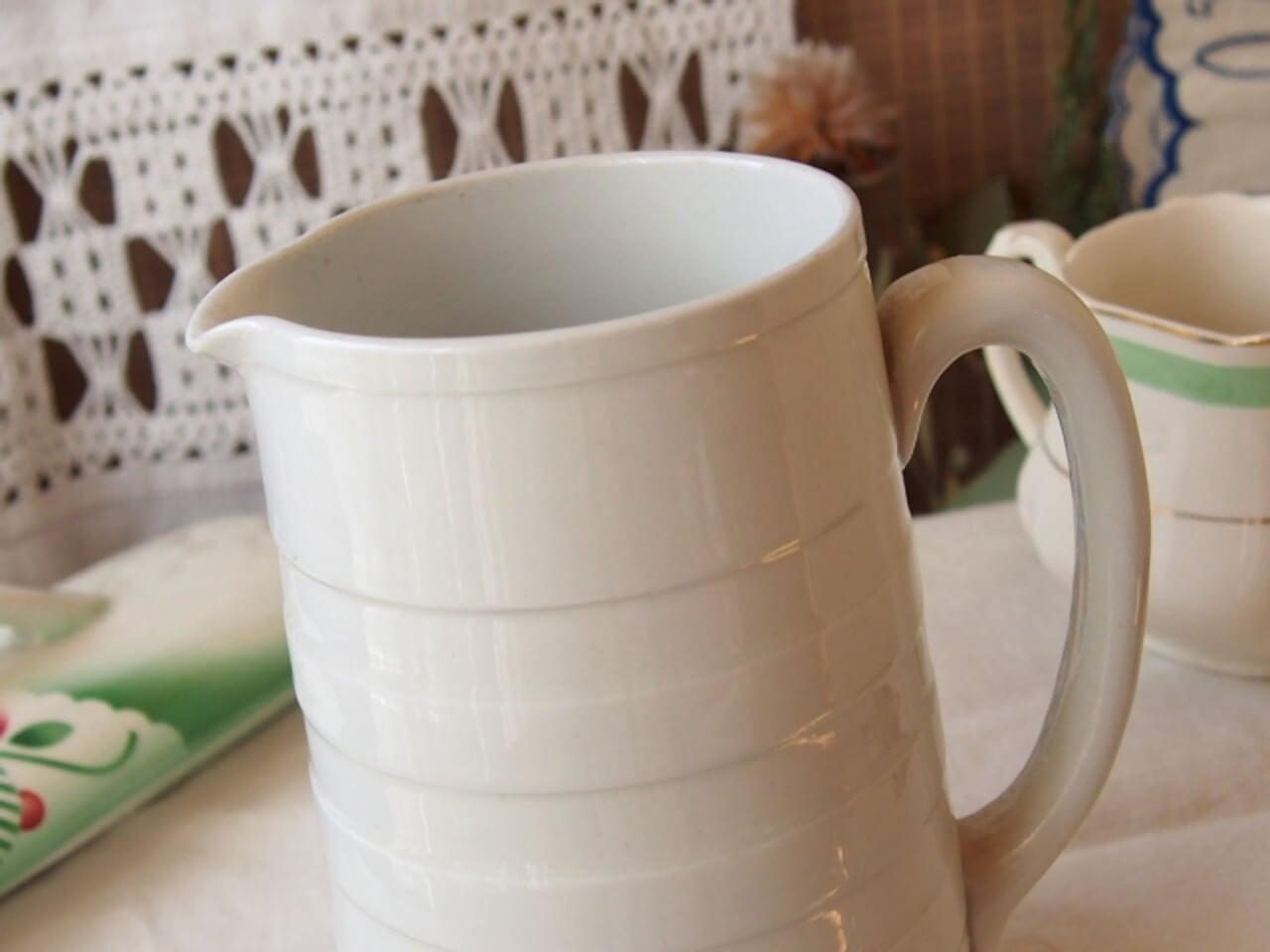 イギリスアンティーク 陶器製ジャグ(T.G.Green)