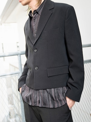 【MENS - 2 size】SHORT TAILORED JACKET / 3colors