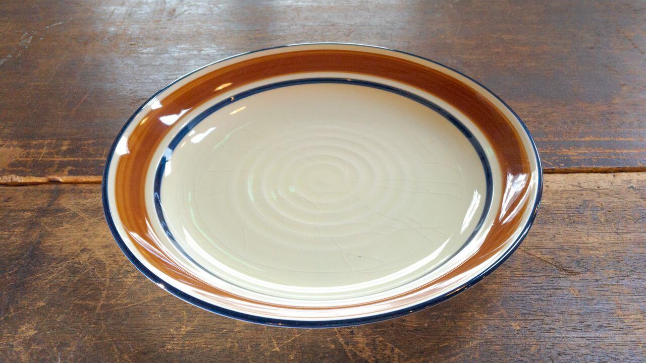 Sango Country Song 茶色い縁のお皿