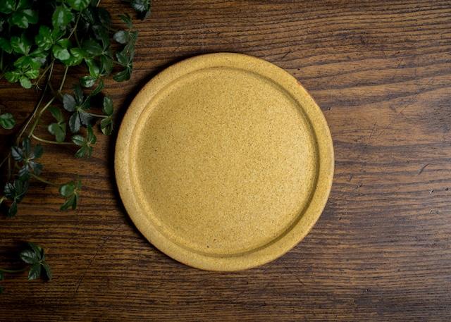 黄化粧 6寸 リム皿(中皿・パン皿・フラットプレート)/吉永哲子