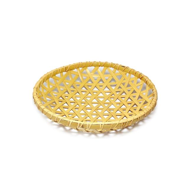白竹オードブル皿(7寸)篭のみ 【64-407】