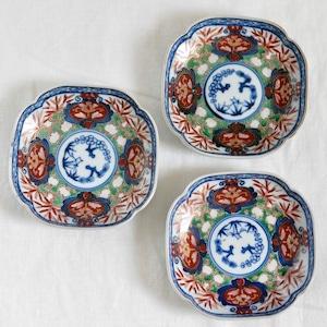 【31008】伊万里 赤絵小皿 (1枚) / Imari Small Plate/