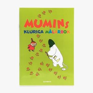 ぬりえブック「MUMINs kluriga målarbok(ムーミンのスマートぬりえブック)」《2013-01》