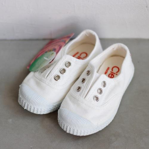 《CIENTA》デッキシューズ / BLANCO(white) / 12.5〜21cm