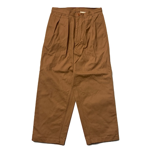 NOROLL / THICKWALK DUCK PANTS -BROWN-