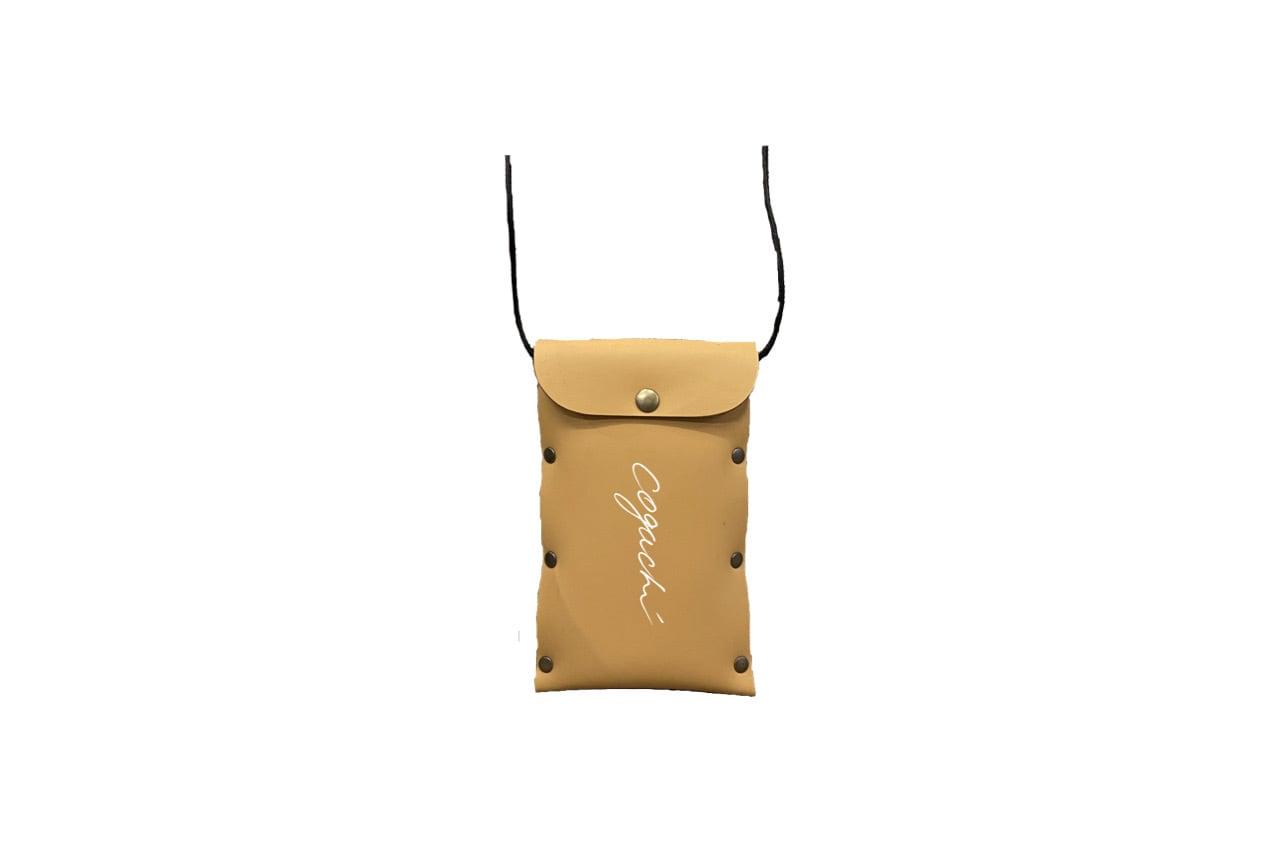 coguchi leather logo mini bag (NUME)数量限定