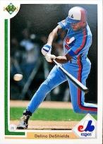 MLBカード 91UPPERDECK Delino DeShields #364 EXPOS