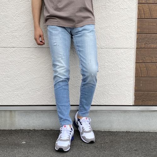 BIG JOHN/ビッグジョン テーパードジョグデニム  CARROT LEG MMM134J-618C