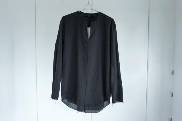 ASKYY / Layered tunic shirts / BLK