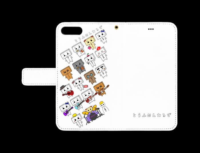 とうふめんたるず手帳型iPhoneケース 8 Plus / 7 Plus