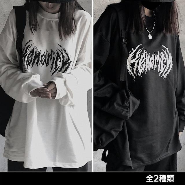 《ランキング12位》HENORICHロングTシャツ(全2色) / HWG289