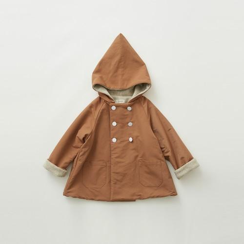 《eLfinFolk 2021AW》elf coat / milky brown / 110-130cm