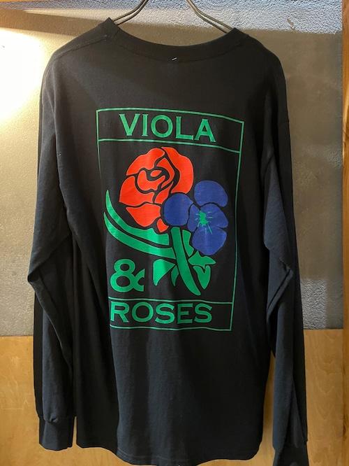 VIOLA&ROSES VR LONG T カラーNO.02BK