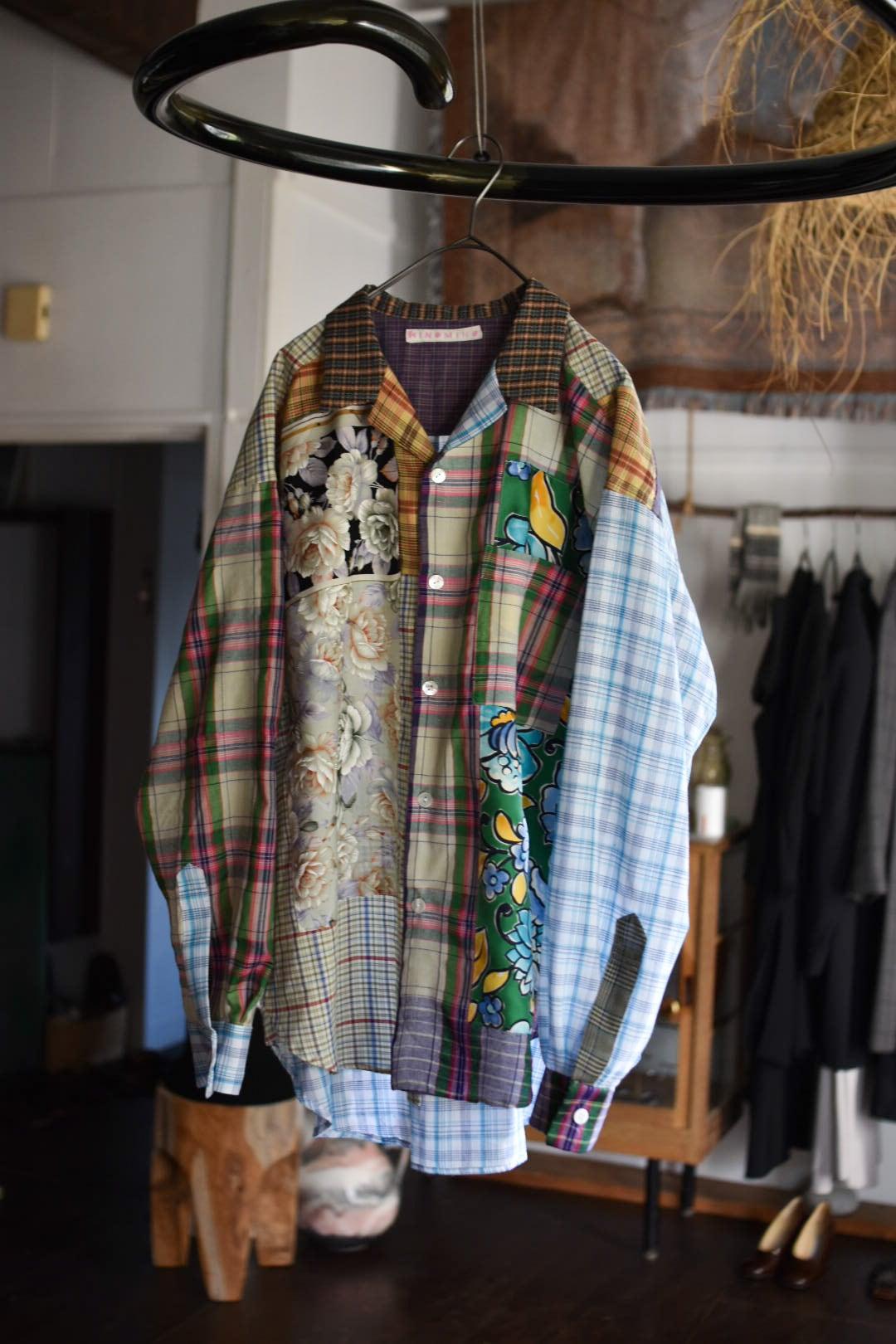 HINOMIHO collage shirt