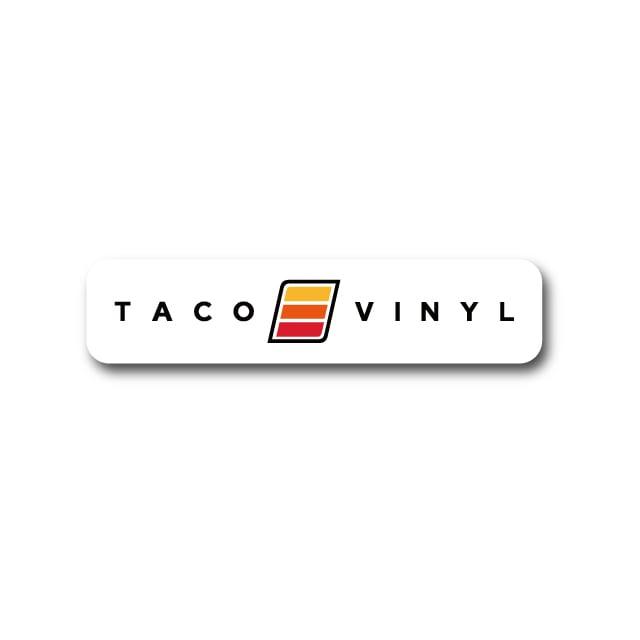 【 TacoVinyl 】 TACOVINYL Clear Decal