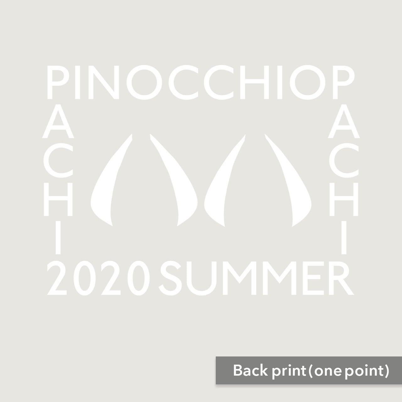 【受注生産再販】ピノキオピー - 八八 -パチパチ-  Tシャツ(バニラホワイト)+ステッカーセット - 画像2