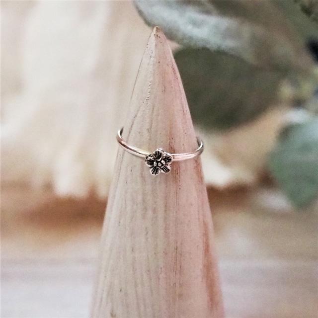 Flower Ring《SILVER925》18380052【4号〜9号】