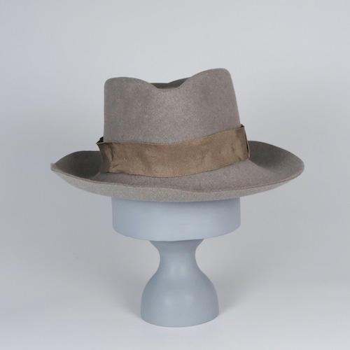 AW20-BE-3 Rabbit Felt Crinkle Hat E - SBE