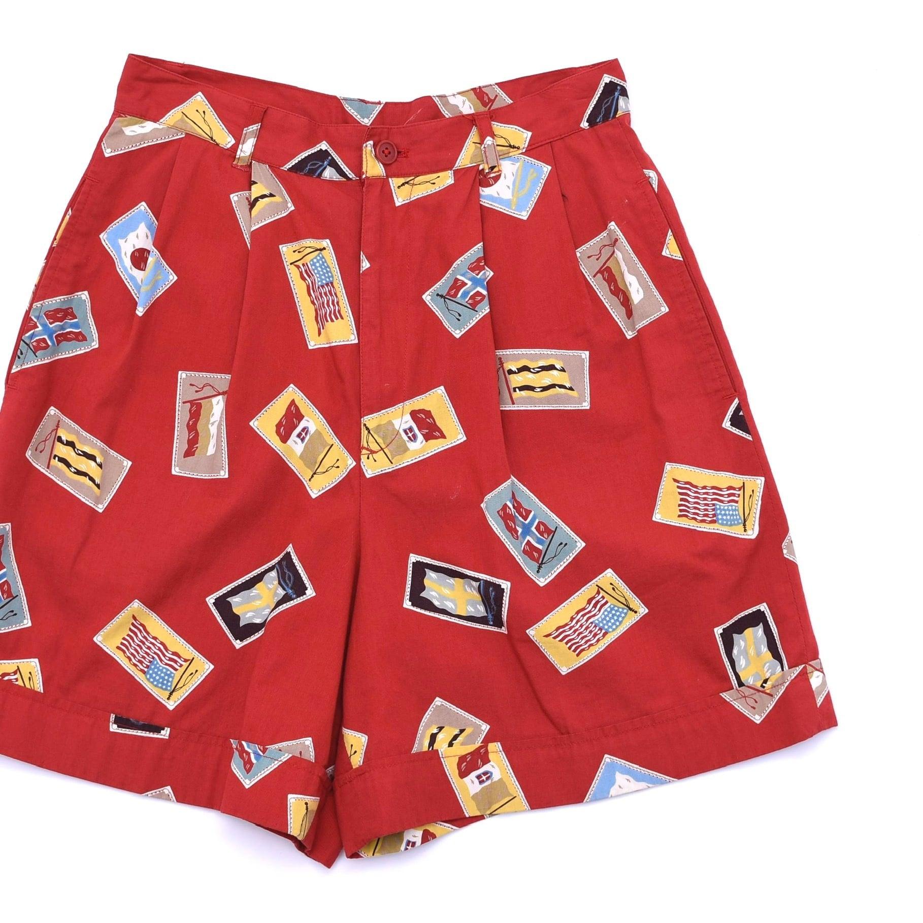 Japan vtg 80's PINK HOUSE retro shorts