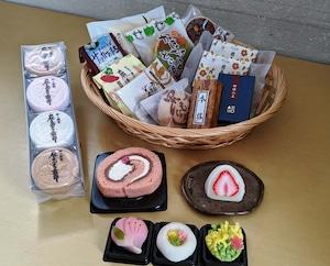オフィス用置き和菓子【松】(頻度:月1回、3ヶ月間)