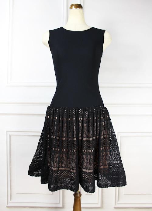 Summer Knit Dress Black
