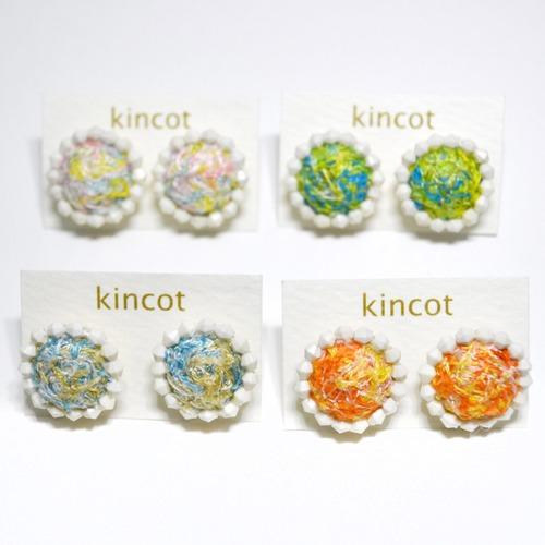 kincot イロイト 小さなまるピアス(ビーズ)